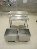 Mobile trolley, mobil basin