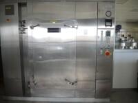 Hot air sterilizer with 3x trolley