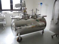 Stainless mobil tank