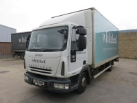 Iveco ML75E16 7.5T Box Truck with Palfinger Tail Lift Registration No. LK08 BWM First Registered March 2008 469,212Recorded Kilometres (as of 1/09/2021), Annual Test Valid Until 31/3/2022 HS Code 87/04 - 2