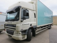 DAF FA CF 65.250 18T Box Truck with Dhollandia Tail Lift Registration No. S600 WLF First Registered December 2013 430,658Recorded Kilometres (as of 1/09/2021), Annual Test Valid Until 31/8/2022 HS Code 87/04 - 2