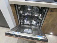 Fitted Kitchen Comprising Siemens HB6B80C0 Steaming Ovens and Type CTE533W Coffee Machine (Microwave, Conventional Oven and Plate Warmer Excluded), Siemens 4 Pan Ceramic Hob, Caple 6 Tier Wine Bottle Chiller, Siemens Type KULL14A Integrated Under Counter - 4