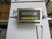 CSG Class III 1.2m² Weigh Scale Platform with Model LP7510A Digital Read Out - 2