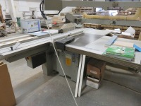 Altendorf F45 ELMO 3 Panel Saw Bench No. 96-12-105 (1996) with DIGIT-L Measuring Device, Altendorf Duplex Mitre Fence and Twin-Bag Dust Extraction unit (Full RAMS Documentation Required Prior to Removal of Asset) HS Code 84/65/91 - 3