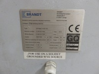 Brandt KTD 720 Optimat Hand Edging Machine No. 0-260-20-7040 (2013) (Full RAMS Documentation Required Prior to Removal of Asset) HS Code 84/65/99/00/00 - 5