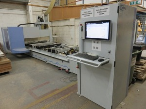 Weeke Type PROFI BMG211/32/12/K Four Axis CNC Router No. 0-250-95-3516 (2016) with Control Panel and Dust Extraction Unit with Ducting (Full RAMS Documentation Required Prior to Removal of Asset) HS Code 84/65/99/00/00