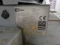 Brandt Type Optimat KDF 650C Edge Banding Machine No. 0-261-20-6635 (2012) with Power Control PC20+ Control Unit (Full RAMS Documentation Required Prior to Removal of Asset) HS Code 84/65/99/00/00 - 7