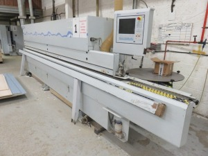 Brandt Type Optimat KDF 650C Edge Banding Machine No. 0-261-20-5456 (2011) with Power Control PC20+ Control Unit (Error with Connector Identified) (Full RAMS Documentation Required Prior to Removal of Asset) HS Code 84/65/99/00/00