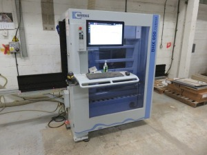 Weeke Type Optimat BHX050 CNC Vertical Router No. 0-250-95-3790 (2016) with Touch Screen Control (Full RAMS Documentation Required Prior to Removal of Asset) HS Code 84/65/99/00/00