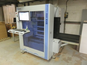 Weeke Type Optimat BHX050 CNC Vertical Router No. 0-250-11-2609 (2015) with Touch Screen Control (Full RAMS Documentation Required Prior to Removal of Asset) HS Code 84/65/99/00/00