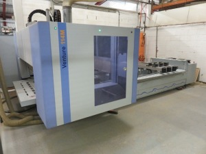 Homag Type BMG110/VENTURE 114M Four Axis CNC Router No. 0-250-95-6438 (2017) with Control Panel (Full RAMS Documentation Required Prior to Removal of Asset) HS Code 84/65/99/00/00