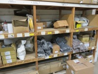Contents of Consumables Stock Located in (11) Bays in the Mezzanine Consumables Store and Loose Items on Floor as Lotted(Please Note That These are Representative Photographs Only)