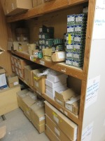 Contents of Consumables Stock Located in (11) Bays in the Mezzanine Consumables Store and Loose Items on Floor as Lotted(Please Note That These are Representative Photographs Only) - 8