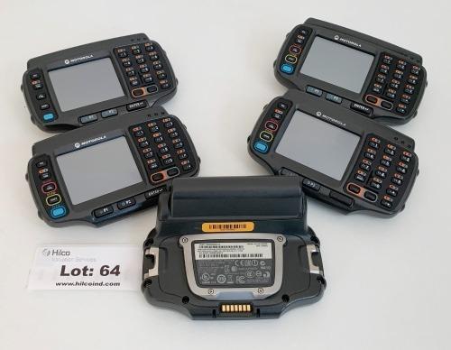 (5) Motorola WT41 Wearable Terminals