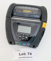 Zebra QLN420 Printer ** Please Note: This lot is offered subject to bulk bid offer on lot 88