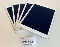 (5) Apple iPad Air 2 Tablet 16GB - WiFi Only ** Please Note: This lot is offered subject to bulk bid offer on lot 118