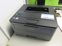 Open Plan Office Containing (3) Canon TR8550 All in One Printers, Brother HL-L2350DW Laser Printer, Zebra GC420T Label Printer and (34) Assorted Size Dell Monitors - 5