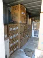 20ft Shipping Container to Include Contents of New Packaged Integrated & Freestanding Kitchen Appliances(Please see PDF Document for Details of Contents)(Please Note That These are Representative Photographs Only)