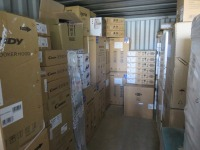 20ft Shipping Container to Include Contents ofNew Packaged Integrated & Freestanding Kitchen Appliances (Please see PDF Document for Details of Contents)(Please Note That These are Representative Photographs Only)