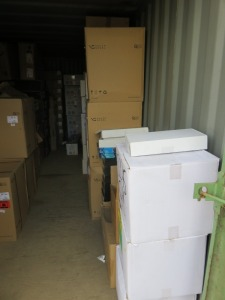 20ft Shipping Container to Include Contents of New Packaged Kitchen Sinks and Taps(Please see PDF Document for Details of Contents)(Please Note That These are Representative Photographs Only)