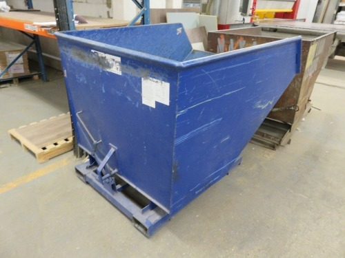 Safe Fence Fork Lift Tipping Skip, Serial No. 118034 with 2,000kg Max Load (2020)