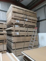 Large Quantity of Board Stock, kitchen worktops, splashbacks and other cut material as Lotted (Please See PDF Document For Details of Contents of Stock) (Please Note That These are Representative Photographs Only) - 4