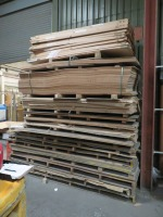 Large Quantity of Board Stock, kitchen worktops, splashbacks and other cut material as Lotted (Please See PDF Document For Details of Contents of Stock) (Please Note That These are Representative Photographs Only) - 8